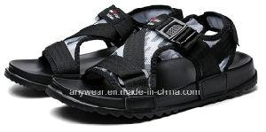 Nuevo diseño de calzado de agua de los hombres zapatos sandalias de deportes de playa (972)