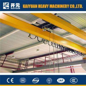 SGSの証明書が付いている二重ガードの隔離の天井クレーン