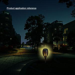 Die neue festliche Art und verzieren Solargarten-Flamme-Tanzen-Lampe