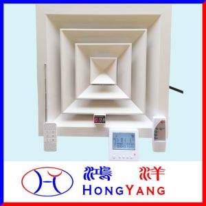 Controlo remoto sem fios através de paredes Arejador inteligente com visor LED