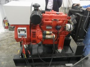 8kw/10kVA Motor Diesel com Stamford Alternador