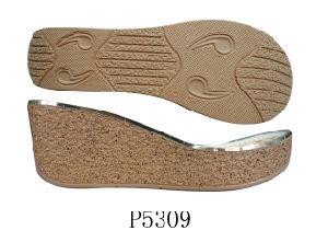 Semelle unique d'unité centrale de haut talon de talon de cale pour Shoes de Madame