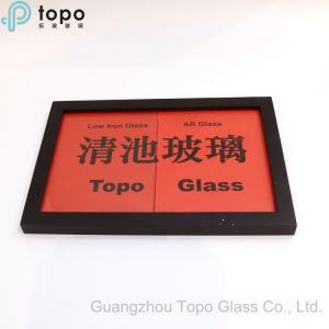 vetro riflettente del ferro di 2mm-12mm anti di Arcoated del museo della foto di arte bassa del blocco per grafici (AR-TP)