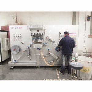 Vuelco de alta velocidad de la máquina de perforación de láser de papel