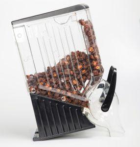 En acrylique transparent de conteneurs de stockage des aliments