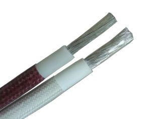 Awm3304 Fibra de vidrio de malla de alambre de caucho de silicona