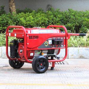 Bison (China) BS3000p (M) 2500kw de potencia portátil 2.5kVA gasolina valor 2.5kw generador de energía eléctrica para uso doméstico