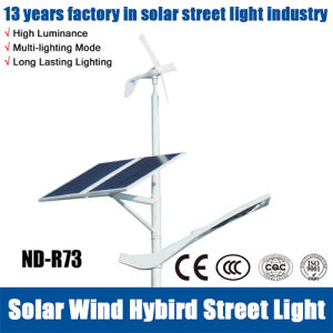 IP65 3年の保証および40W風のハイブリッド太陽街灯