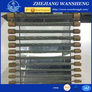 Collegare d'acciaio del filo galvanizzato Zinco-Rivestimento Hot-DIP per il cavo di comunicazione