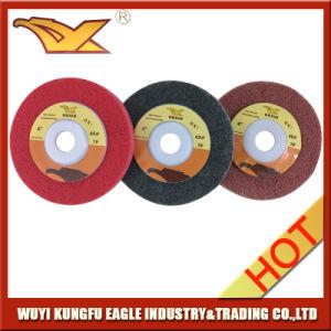 4 polegadas da roda de polimento de Não Tecidos abrasivas de Aço Inoxidável
