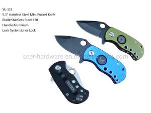 5.3 Mini em aço inoxidável da Faca de bolso (SI-111)