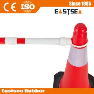 De duurzame ABS Plastic Intrekbare Staaf van de Kegel van het Verkeer voor Verkeersveiligheid