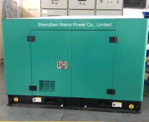 150kVA 120kw calificación espera silencioso generador diésel Cummins Power Generation