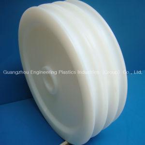Het hittebestendige Wiel van de Katrol van het Polyethyleen van de Katrol UHMWPE Naar maat gemaakte Plastic