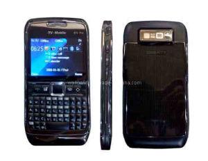 Hete Verkopende vierling-Banden TV van de Telefoon van TV SIM van het Toetsenbord van Qwerty Dubbele Mobiele E71 PRO