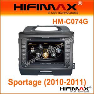 차 DVD W A8 CPU /Bt/RDS/GPS/V-Cdc/Pop/3G/File 관리 KIA Sportage (2010-2011년) (HM-C074G)