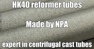 HK40、HPの一次Reformer Tube Centrifugal Cast Tube/Catalyst Tube