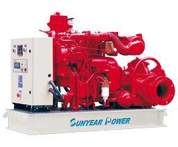 Intelligenz-Dieselmotor-Wasser Pump-1