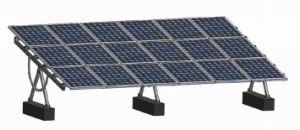 Solarkompass-Solardach-Montage-System (PV-Montage-System, Solarmontage-Installationssatz, Aluminiumschiene, Hardware, Struktur)