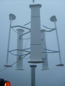 縦の軸線Windturbine (200Wは10KWを耕す)