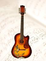 Mandoline / Mandoline Coloré (M3) / Instrument à cordes Mandoline