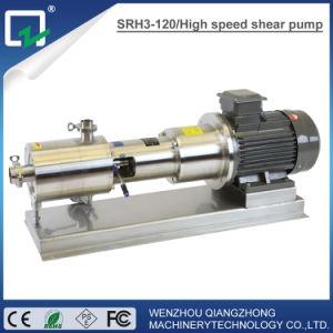 Alta macchina dell'emulsionante della pompa delle cesoie dell'acciaio inossidabile dell'emulsione della pompa sanitaria del miscelatore