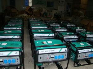Portátil de Cummins hogar generador de gasolina de 2 kw-5kw (P2200 P2600)