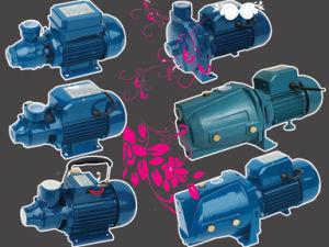 Pompa ad acqua periferica della famiglia del ghisa di alta qualità (QB60)