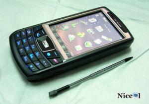 GSM SIM van Quadband de Dubbele Actieve Mobiele Telefoon PDA van TV (JC777S)