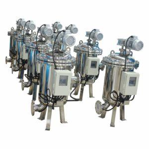 Drenaje automático de filtración de agua industrial con el control de presión diferencial (YLXS)