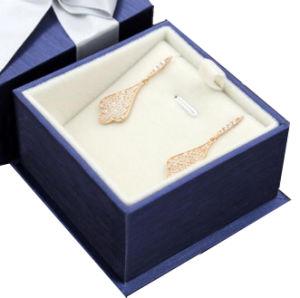 Contenitore di monili su ordinazione del regalo della collana del cartone/contenitore impaccante regalo dei monili