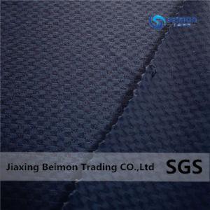 82/18 tecido Jacquard de licra de nylon com jóias resplandecentes, tecidos de malhas de alta qualidade para sportswear