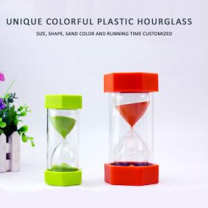 5-60 minutos a ampulheta, Personalizar a ampulheta do Temporizador de areia de plástico