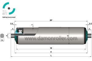 ISO9000 серии ролика транспортера (1200)