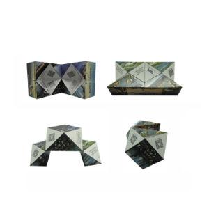 Logo de la Société d'impression en plastique Cadeaux Publicitaires cube magique de pliage
