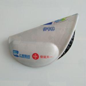 Mouse pad com descanso de punho, Non-Slip Gel PU almofada do apoio para o pulso da base para jogos Digitador Office