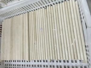 カラーラの白い丸みがある鉛筆はさみ金の鋳造物