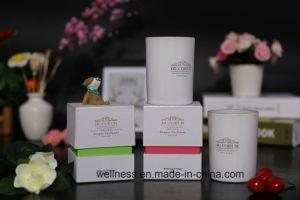 As velas perfumadas, Vela de cera de soja natural com pavio de madeira