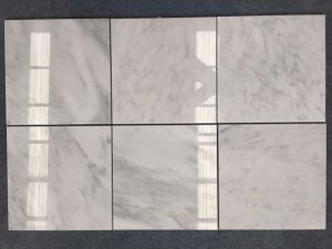 Mattonelle di marmo bianche orientali di pietra di marmo pure
