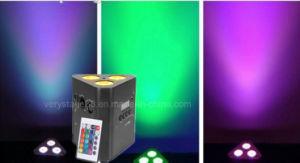 3X10W RGBW 4en1 Wireless Batería LED Triángulo de Luz PAR
