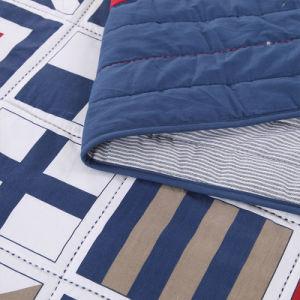 Домашний текстиль с подушкой случаях индивидуальные Prewashed прочного удобные кровати стеганая 3-х покрывалами Coverlet установить