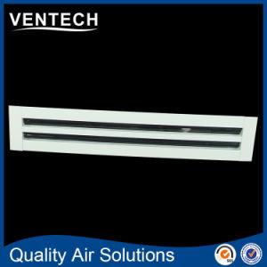 Griglia di aria lineare della barra, griglia di alluminio del cunicolo di ventilazione, diffusore lineare dell'aria della scanalatura