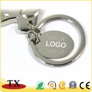 Andenken-förderndes Metallflugzeug-Schlüsselkette