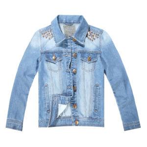 Senhoras Jeans Jacket (MYX0005)