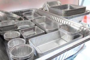 8011 O алюминия и алюминиевой фольги контейнера/катушка для контейнера