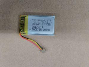 Bluetooth 건전지 3.7V 200mAh (TPP501730) Li 중합체 건전지