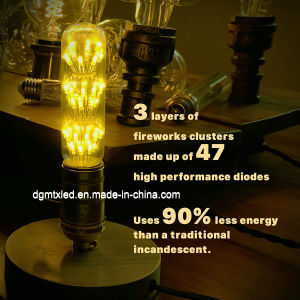 Forma de tubo de bombilla LED E26/E27 con aprobación UL