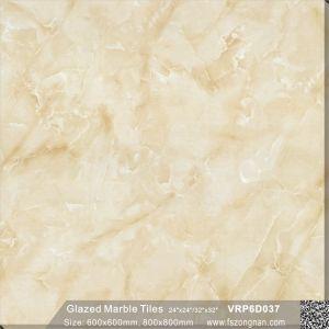 フォーシャンの建築材料の艶をかけられた磁器の壁および床タイル(VRP6D033)