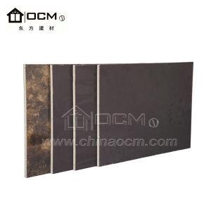 Интерьер HPL оксида магния системные платы для монтажа на стену