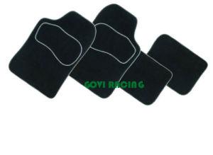 4PCS/Set het universele Leer van pvc van de Matten van de Vloer van de Auto Slip